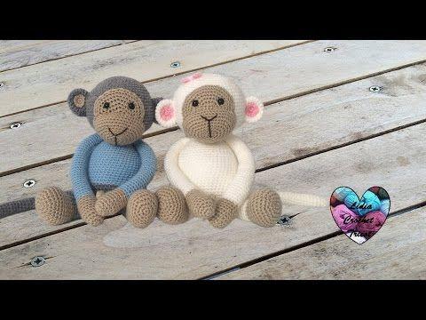 Faire des Amigurumi singes au crochet