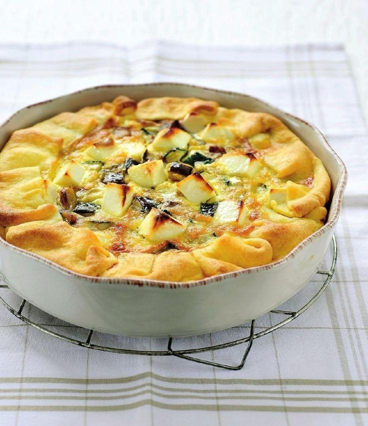 Quiche veggie met feta en basilicum http://www.njam.tv/recepten/quiche-veggie-met-feta-en-basilicum
