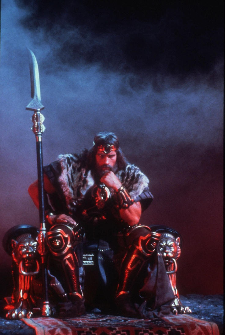 "King Conan! What is best in life? ""The UPS delivery truck with my throw pillows pulling up in front of my palace!"""