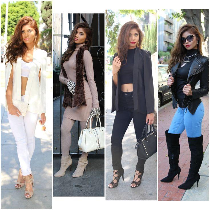 Winter fashion... She's so stylish