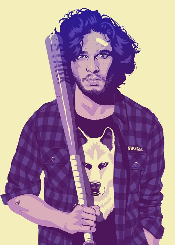 Game Of Thrones Characters Imagined in the 90s – Mike Wrobel