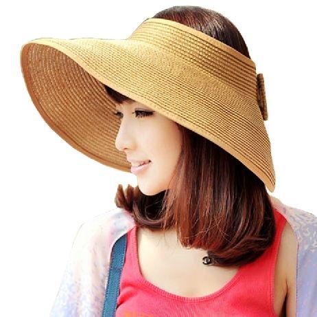 Женщины Лето Спандекс Пляж Sun Cap, Кака Популярных Многоцветные Большой Вдоль Соломенная Шляпа Вс Hat Летний Пляж Cap, бесплатная Доставка!
