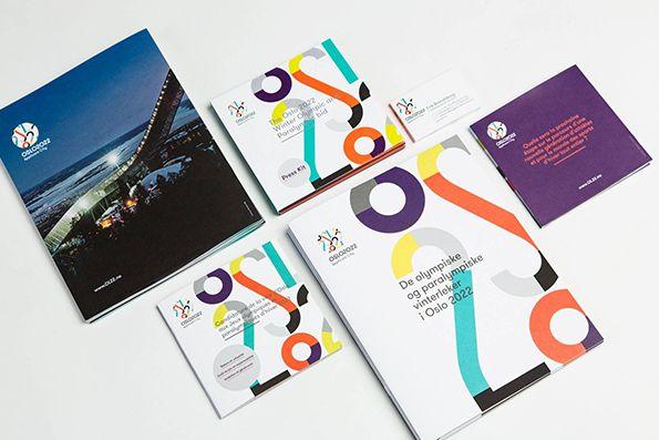 Snøhetta create lovely geometric identity for Oslo 2022 Winter Olympics