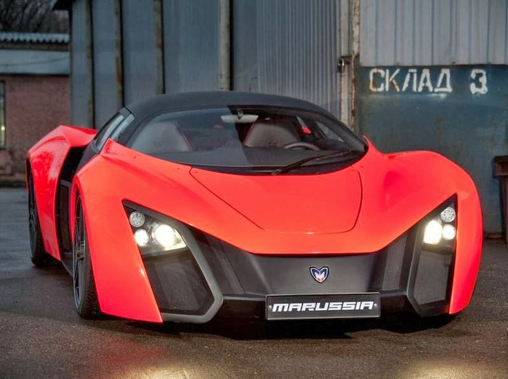 Gentil Russian Supercar Marussia