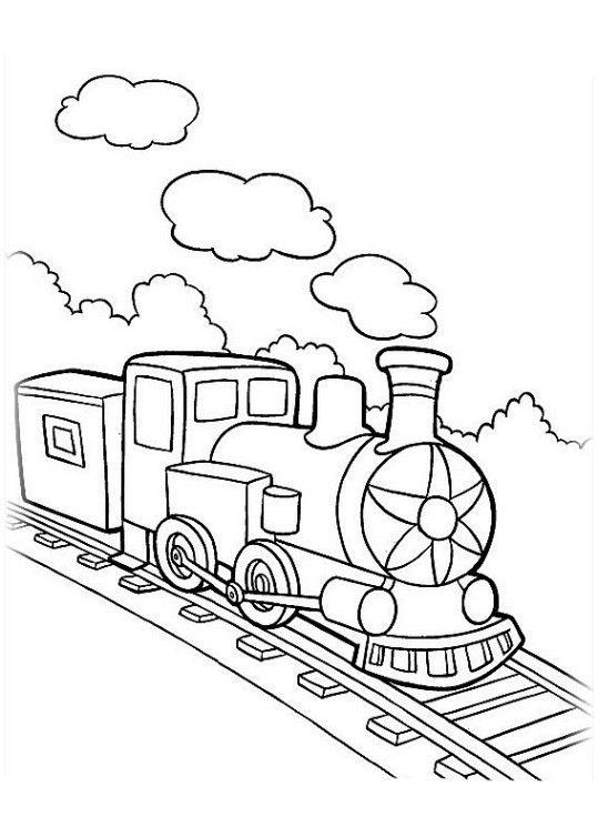 Ausmalbilder Eisenbahn Kostenlos Basteln Für Kita Ausmalbilder