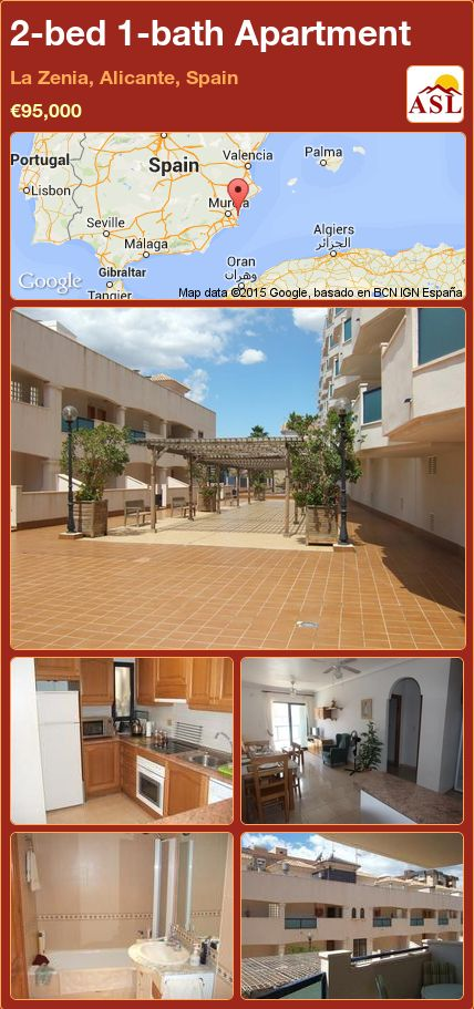 2-bed 1-bath Apartment in La Zenia, Alicante, Spain ►€95,000 #PropertyForSaleInSpain