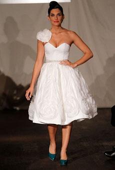 Brides: Sarantina by Sarah Jassir - Fall 2011 | Wedding Dresses and Style | Brides.com