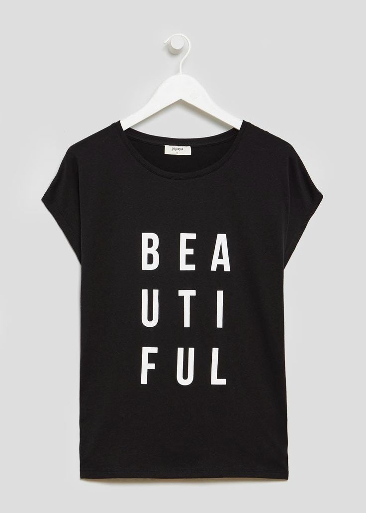 Beautiful Slogan T-Shirt