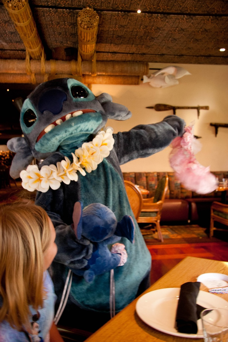Stitch!!! Must go back to WDW to have my photo with him!!!!!