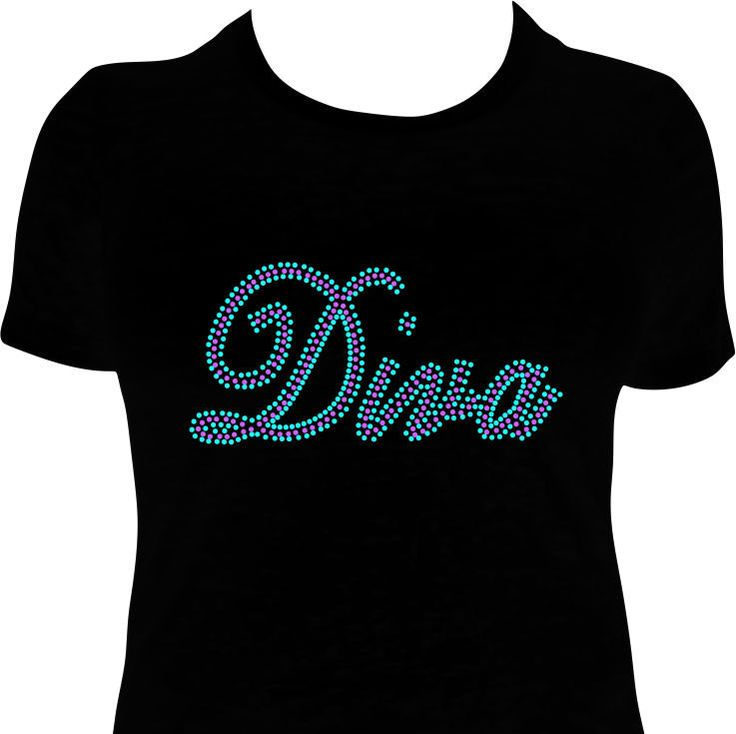 1000 Images About Rhinestone T Shirts On Pinterest