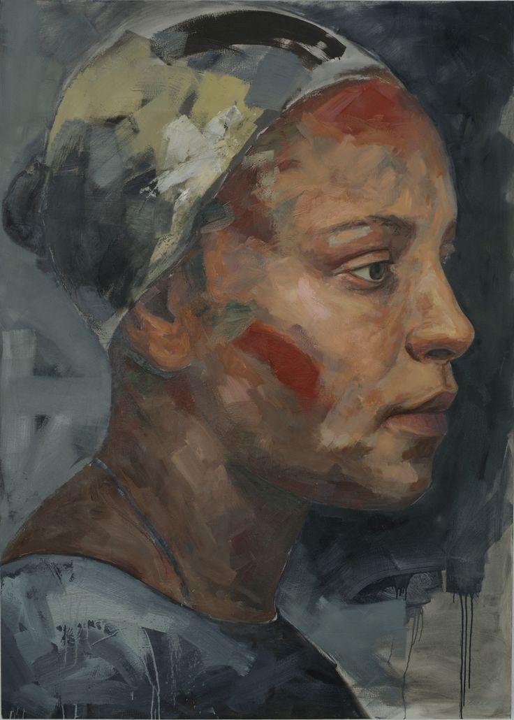 Residue series 2, 230cm X 165cm, Oil on Canvas