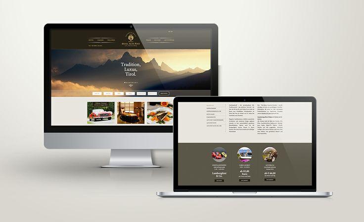 Hotel Alte Post - St. Anton www.hotel-alte-post.at #Webdesign