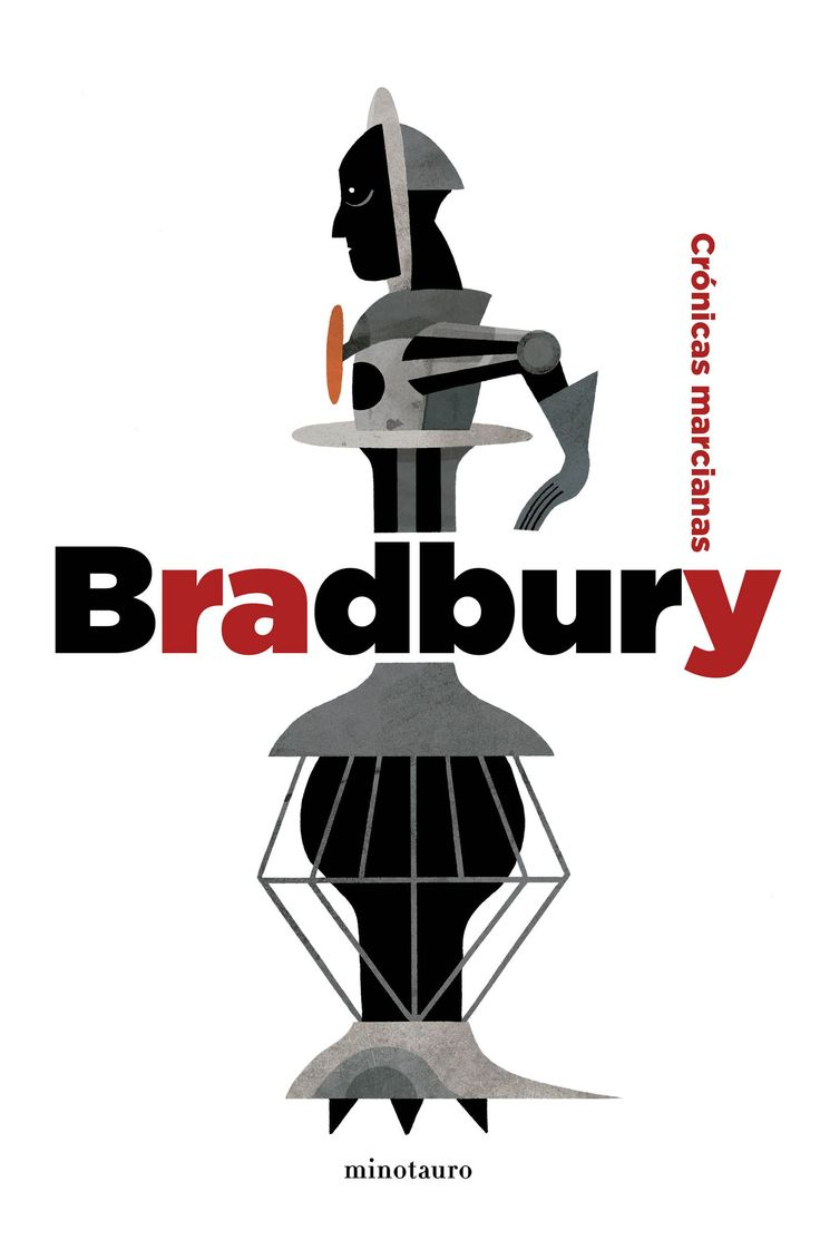 """Cover for a Ray Bradbury´s """"Martian Chronicles"""" Special Edition."""