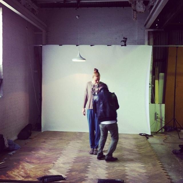 Elk fashion shoot sneak peek at winter 2013!