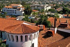 Santa Barbara's Red Tile Rooftops - Willem Van Bergen/Flickr/CC BY-NC-SA 2.0