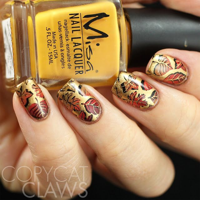 2073 Copycat Claws: The Digit-al Dozen does Four - Four-Colored Leaves with UberChic…