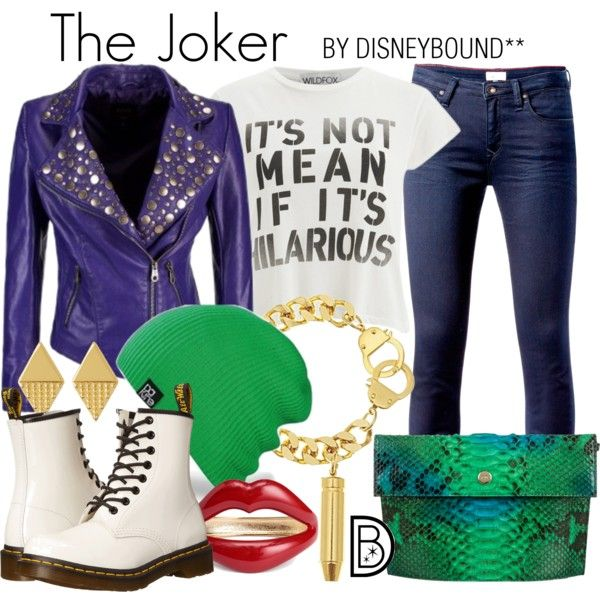 Disney Bound - The Joker (DC Comics - Suicide Squad)