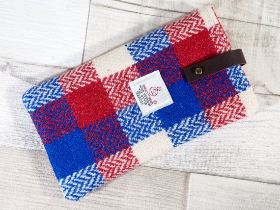 Smart Phone Sleeve in patriotic red white and by HandbagsandHome