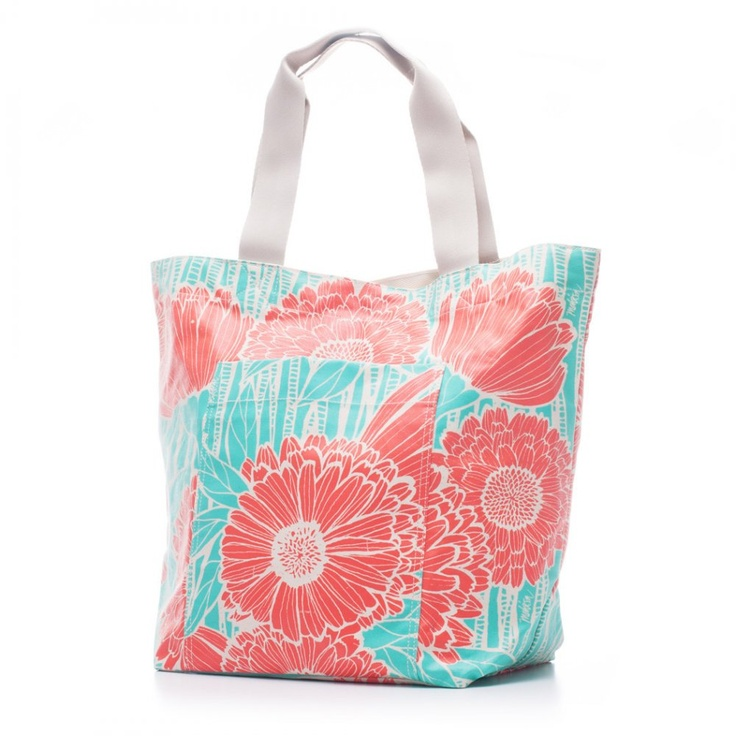 Bags & Totes: Beach Bag Orange Salmon $87