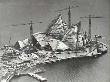 #Sydney #Opera #House construction NSW Australia