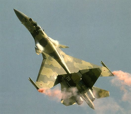 The Sukhoi Su-37 technology demonstrator
