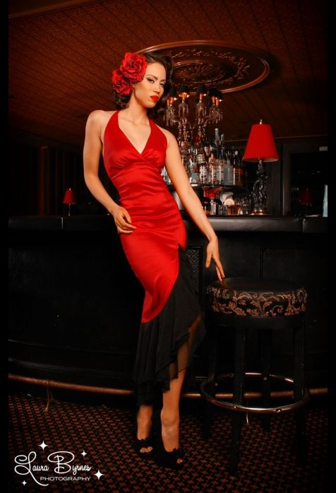 So gorgeous - The Salsa dress from Pin Up Girl Clothing