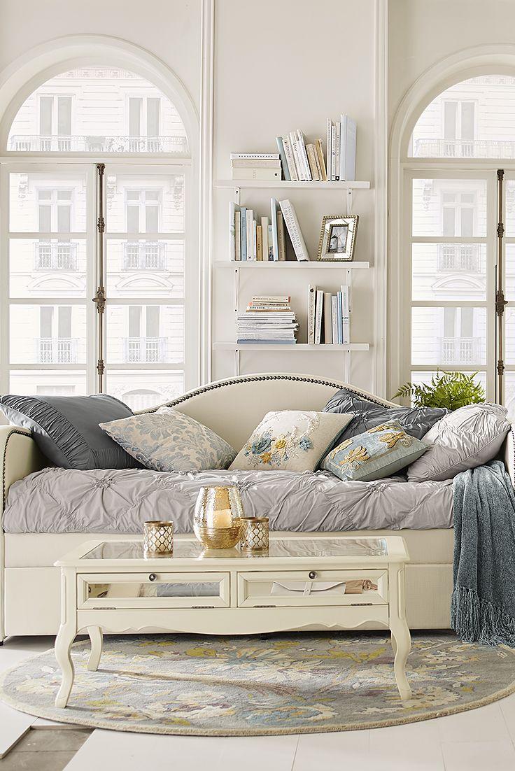 best 25 trundle daybed ideas on pinterest girls daybed. Black Bedroom Furniture Sets. Home Design Ideas