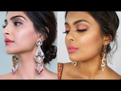 Sonam Kapoor | Cannes 2017 Makeup - Eid Makeup, Indian Wedding Guest Makeup, Prom Makeup Tutorial http://makeup-project.ru/2017/06/20/sonam-kapoor-cannes-2017-makeup-eid-makeup-indian-wedding-guest-makeup-prom-makeup-tutorial/