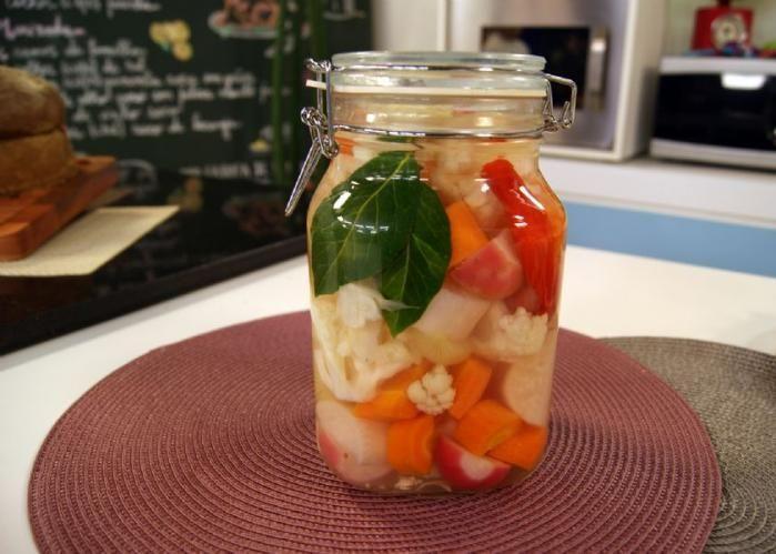 Conserva de pickles