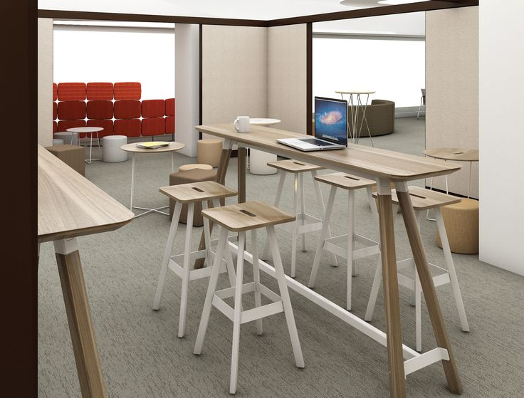 15 Best Knoll Medium Standing Height Meeting Tables Images