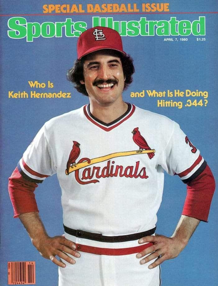 Keith Hernandez Baseball Cardinals Baseball Chicago
