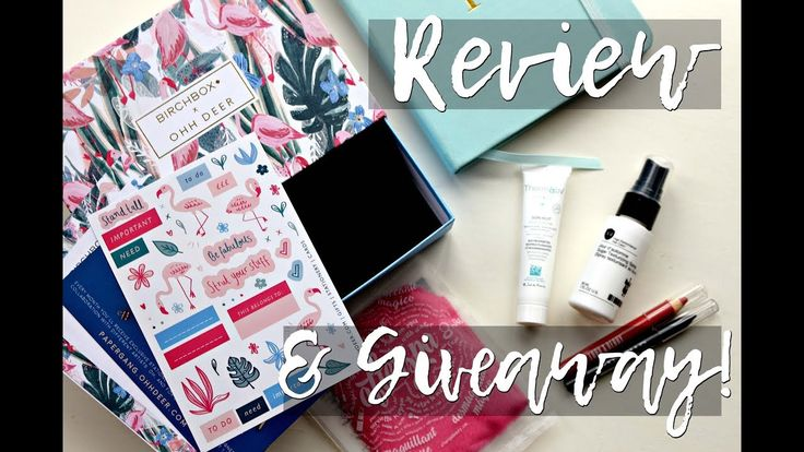 JANUARY BIRCHBOX : Review & Giveaway!