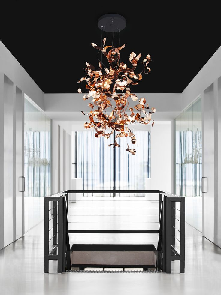 KELP Composition in a copper finish. For our KELP collection and much more, visit our website www.brandvanegmond.com