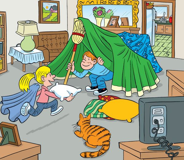 Family Fun: Find 6 Words Hidden in These Pictures