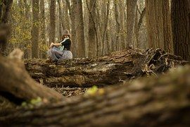 Forest, Model Woman, Nature, Outdoor