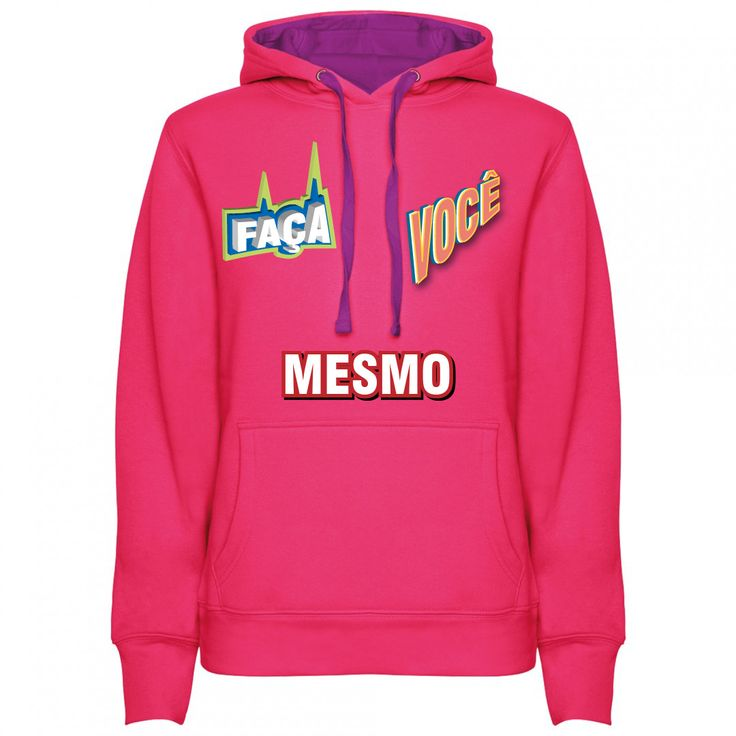 A Sweatshirt Personalizada Feminina Faça Você Mesmo, é o produto indicado para quem quer produzir a sua própria Sweatshirt da forma que bem desejar.