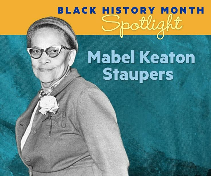 Black History Month Nurse Highlight: Mabel Keaton Staupers led the battler to end racial prejudice in nursing. Color was the greatest obstacle that had to be faced by every black aspiring to become nurse in the early years. Her efforts to bring end to racial discrimination among nurses paid off when the government integrated black nursing in the U.S. Army Nurses Corps after Pearl Harbor. She became an ANA Hall of Fame inductee in 1989. #blackhistorymonth #BHM