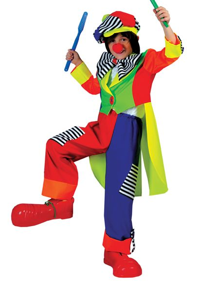 Awesome Costumes Spanky Stripes Clown Costume just added...