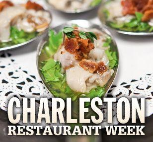 Charleston Restaurant Week   Charleston Events & Charleston Event Calendar