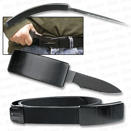 Your plane trip just got a lot more dangerous thanks to hidden belt knives!
