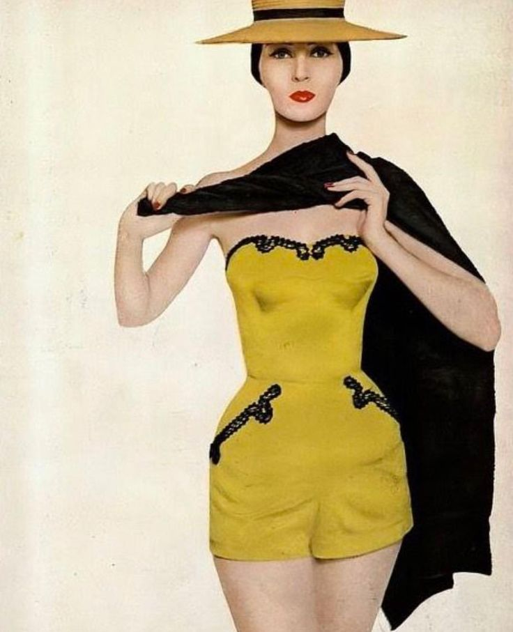 Dovima, photographed by Avedon, 1954 for December Harpers Bazaar #avedon #harpersbazaar #romper #dovima #editorial