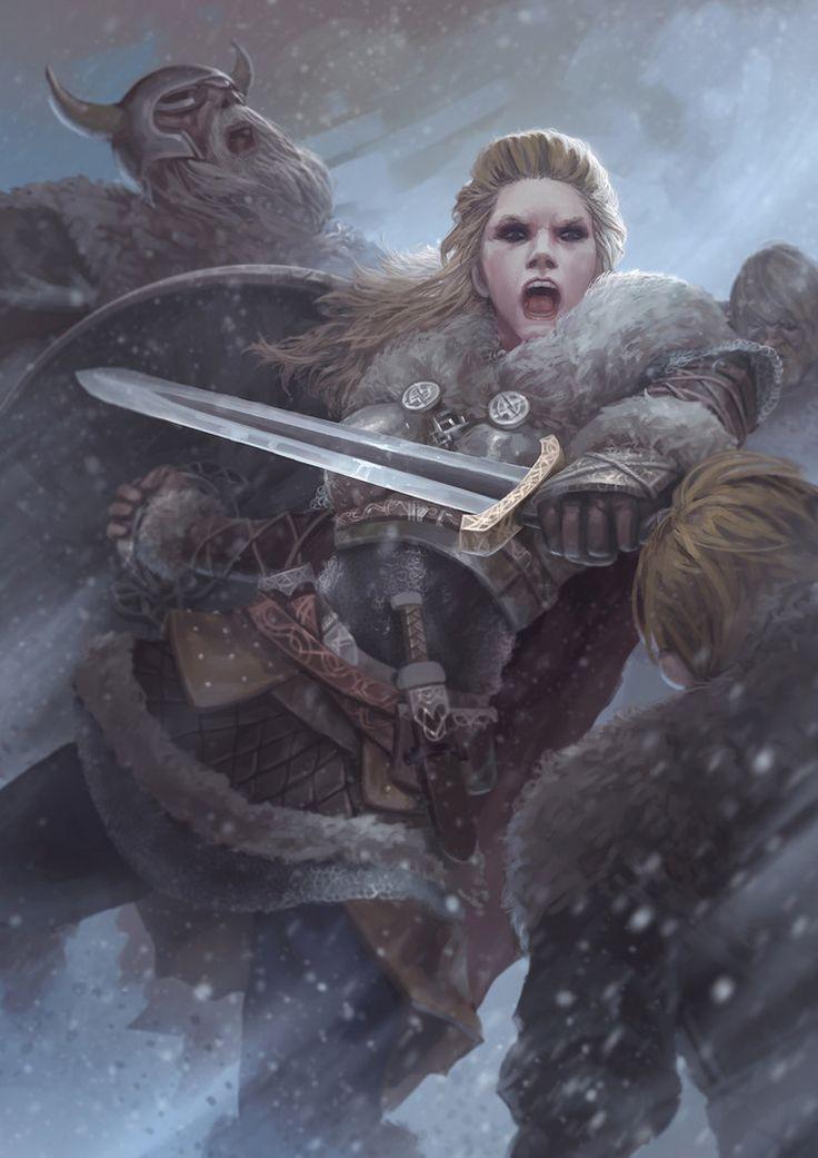 Best 25+ Viking art ideas only on Pinterest | Norse tattoo ... Viking Woman Art