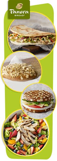 HG's latest guilt-free finds... PIN!! #food #Panera #snacks