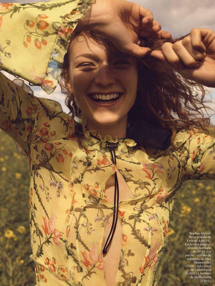 Dia de Campo - Sophia Ahrens by Emma Tempest for Vogue Spain June 2016