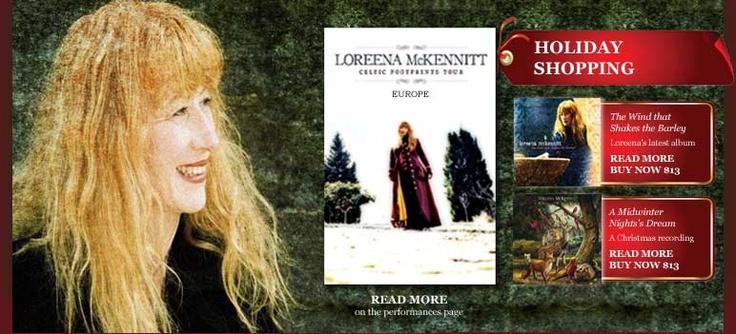 Loreena McKennitt. Schitterende stem. Prachtige teksten. Inspirerende ondernemer.