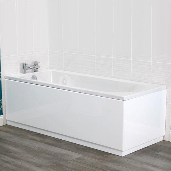 Best 25+ White bath panel ideas on Pinterest   White tile paint ...
