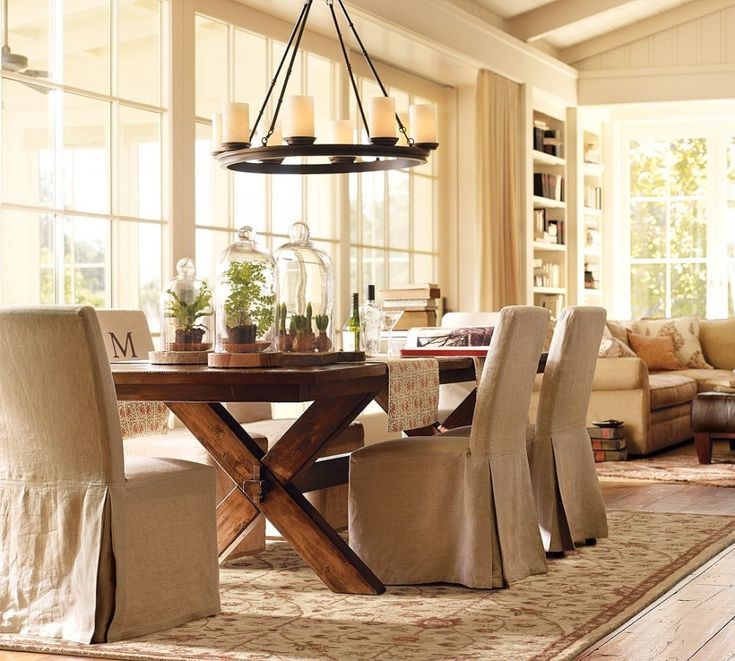 Dining Room Design: Wonderful Dining Table Design With Rustic Folding  Dining Table And Cream Dining