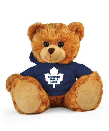 Take a look at this Toronto Maple Leafs Hoodie Bear by Plushland on #zulily today!