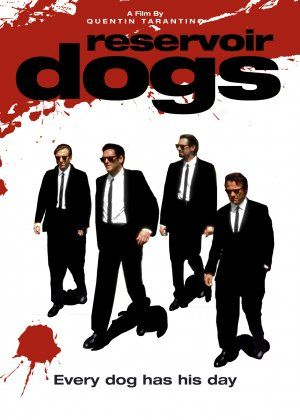 Reservoir Dogs ~ After a simple jewelery heist goes terribly wrong, the surviving criminals begin to suspect that one of them is a police informant.    Director:	Quentin Tarantino  Cast:	Harvey Keitel  	Tim Roth  	Steve Buscemi  	Michael Madson