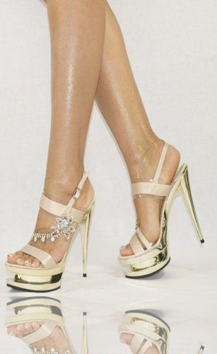 Luxus Damenschuhe 35-40 NEU Pumps Plateau High Heels Designer Schuhe Damen Party | eBay